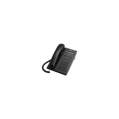 Cisco Unified SIP Phone 3905 - VoIP phone - SIP, RTCP - charcoal