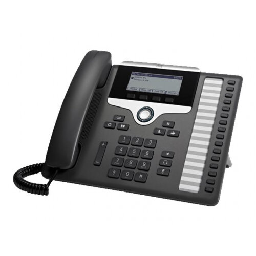 Cisco IP Phone 7861 - VoIP phone - SIP, SRTP - 16 lines