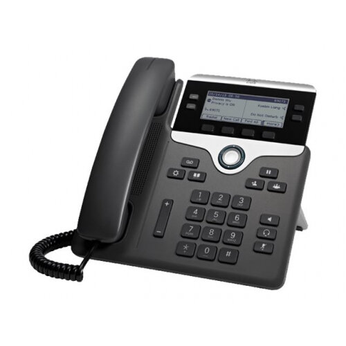 Cisco IP Phone 7841 - VoIP phone - SIP, SRTP - 4 lines