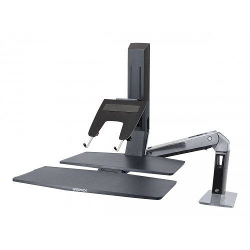 Ergotron LX - Notebook arm mount tray - black - for Ergotron LX Sit-Stand Wall Mount LCD Arm