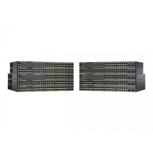 Cisco Catalyst 2960XR-24TS-I - Switch - L3 - Managed - 24 x 10/100/1000 + 4 x SFP - desktop, rack-mountable