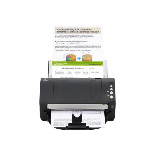 Fujitsu fi-7140 - Document scanner - Duplex - 216 x 355.6 mm - 600 dpi x 600 dpi - up to 40 ppm (mono) / up to 40 ppm (colour) - ADF (80 sheets) - USB 2.0