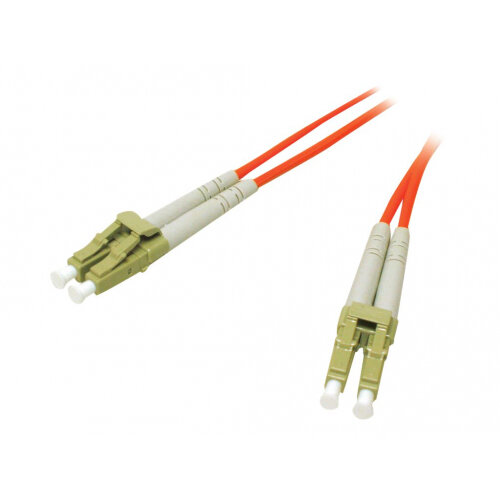 C2G Low-Smoke Zero-Halogen - Patch cable - LC multi-mode (M) to LC multi-mode (M) - 3 m - fibre optic - 62.5 / 125 micron - orange