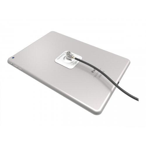 Compulocks Universal Tablet Cable Lock - 3M Plate - Silver Keyed Lock - Security kit