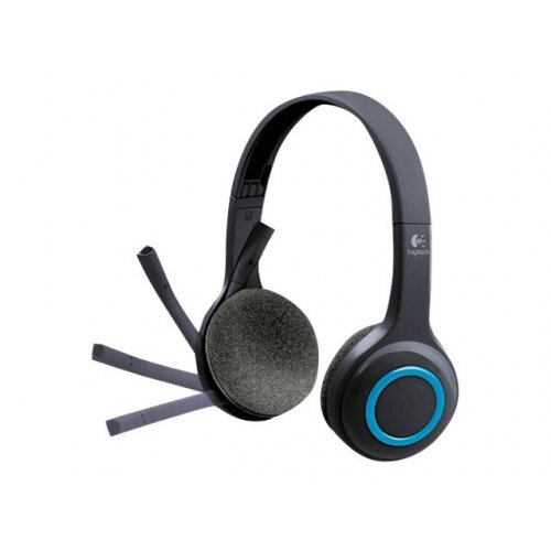 Logitech Wireless Headset H600 - Computer Headset with Microphone- On Ear - 30 Ohms, Windows, Mac and Chrome OS Compatible - Lightweight and Durable, Designed for Games, Office, Music, Skype and Multimedia - 2.4 GHz (USB-A Dongle Receiver) - Wireless