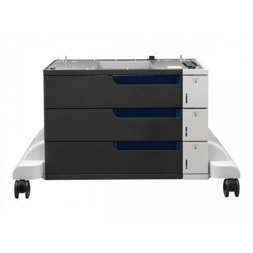 HP - Printer base with media feeder - 1500 sheets in 3 tray(s) - for Color LaserJet Enterprise M750; LaserJet Enterprise MFP M775; LaserJet Managed MFP M775