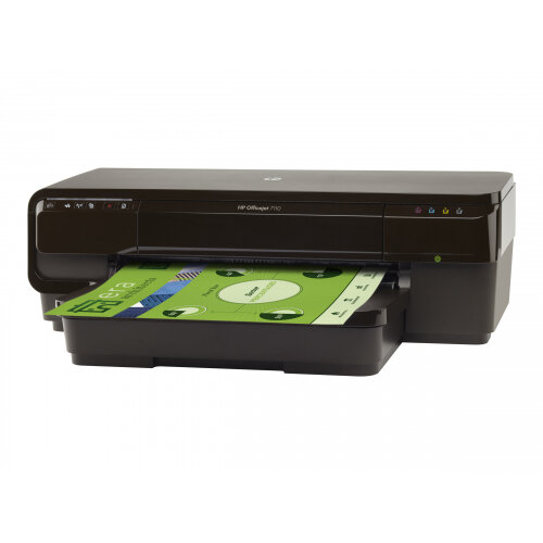 HP Officejet 7110 Wide Format ePrinter - Printer - colour - Duplex - ink-jet - A3 - 600 x 1200 dpi - up to 8 ppm (mono) / up to 15 ppm (colour) - capacity: 250 sheets - USB, LAN, Wi-Fi(n)