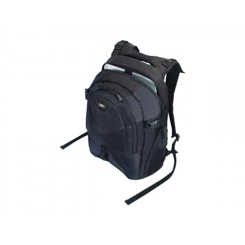 """Targus 15.4 - 16 inch / 39.1 - 40.6cm Campus Laptop Backpack - Notebook carrying backpack - 16"""" - black"""