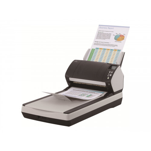Fujitsu fi-7260 - Document scanner - Duplex - 216 x 355.6 mm - 600 dpi x 600 dpi - up to 60 ppm (mono) / up to 60 ppm (colour) - ADF (80 sheets) - up to 4000 scans per day - USB 3.0