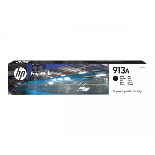 HP 913A - Black - original - PageWide - ink cartridge - for PageWide 352, MFP 377; PageWide Managed MFP P57750, P55250; PageWide Pro 452, 477, 552