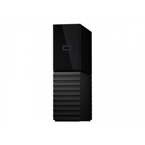 WD My Book WDBBGB0080HBK - Hard drive - encrypted - 8 TB - external (desktop) - USB 3.0 - 256-bit AES - black