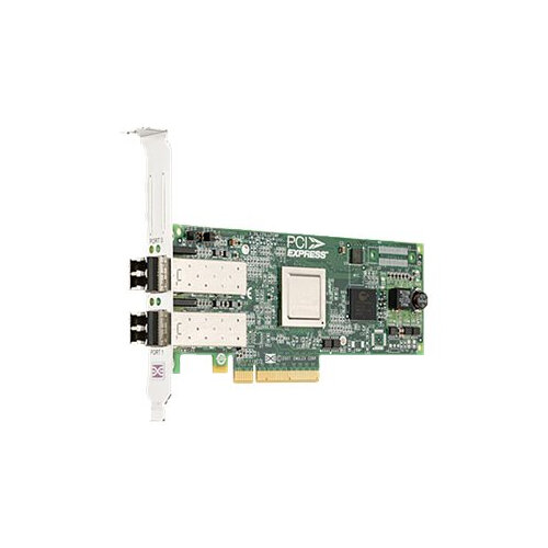 Dell Emulex LPE-12002 - Host bus adapter - PCIe 2.0 x8 low profile - 8Gb Fibre Channel x 2 - for PowerEdge R320, R420, R520, R620, R720, R820, T420, T620, VRTX M520, VRTX M620