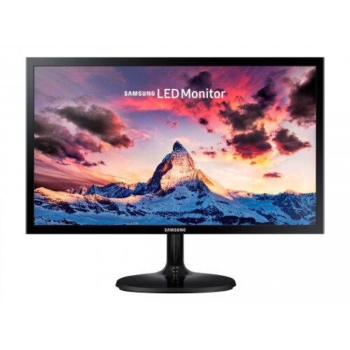 "Samsung SF350 Series S22F350FHU - LED monitor - 22"" - 1920 x 1080 Full HD (1080p) - TN - 200 cd/m² - 1000:1 - 5 ms - HDMI, VGA - shiny black"