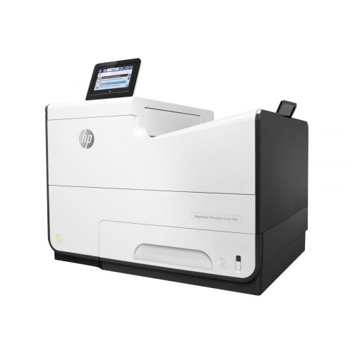 HP PageWide Enterprise Color 556dn - Printer - colour - Duplex - page wide array - A4/Legal - 1200 x 1200 dpi - up to 75 ppm (mono) / up to 75 ppm (colour) - capacity: 550 sheets - USB 2.0, Gigabit LAN, USB 2.0 host