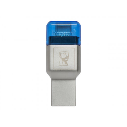 Kingston MobileLite Duo 3C - Card reader (microSD, microSDHC UHS-I, microSDXC UHS-I) - USB 3.1 Gen 1