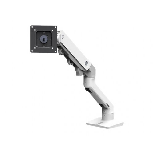 "Ergotron HX Desk Monitor Arm - Mounting kit (articulating arm, desk clamp mount, grommet mount, pivot, mounting hardware, extension part) for Monitor - white - screen size: up to 42"" - desk-mountable"