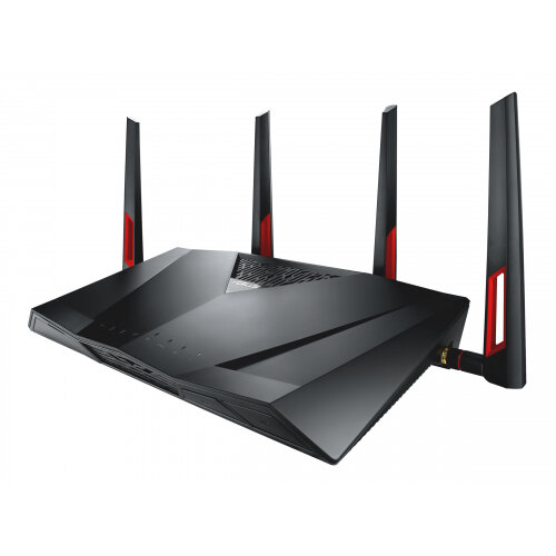 ASUS DSL-AC88U - Wireless router - DSL modem - 4-port switch - GigE - WAN ports: 2 - 802.11a/b/g/n/ac - Dual Band