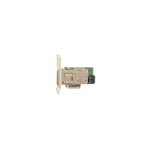 Broadcom MegaRAID SAS 9460-8i - Storage controller - 8 Channel - SATA / SAS 12Gb/s low profile - 1200 MBps - RAID 0, 1, 5, 6, 10, 50, JBOD, 60 - PCIe 3.1 x8