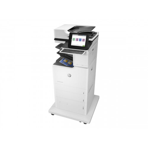 HP LaserJet Enterprise Flow MFP M682z - Multifunction printer - colour - laser - 215.9 x 863.6 mm (original) - A4/Legal (media) - up to 56 ppm (copying) - up to 56 ppm (printing) - 3200 sheets - 33.6 Kbps - USB 2.0, Gigabit LAN, Bluetooth, Wi-Fi(n), USB 2