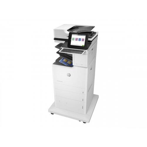 HP LaserJet Enterprise Flow MFP M682z - Multifunction printer - colour - laser - 215.9 x 863.6 mm (original) - A4/Legal (media) - up to 56 ppm (copying) - up to 56 ppm (printing) - 3200 sheets - 33.6 Kbps - USB 2.0, Gigabit LAN, Bluetooth, Wi-Fi(n), USB 2