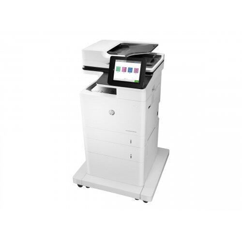HP LaserJet Enterprise MFP M632fht - Multifunction printer - B/W - laser - 216 x 863 mm (original) - A4/Legal (media) - up to 61 ppm (copying) - up to 61 ppm (printing) - 1200 sheets - 33.6 Kbps - USB 2.0, Gigabit LAN, USB 2.0 host