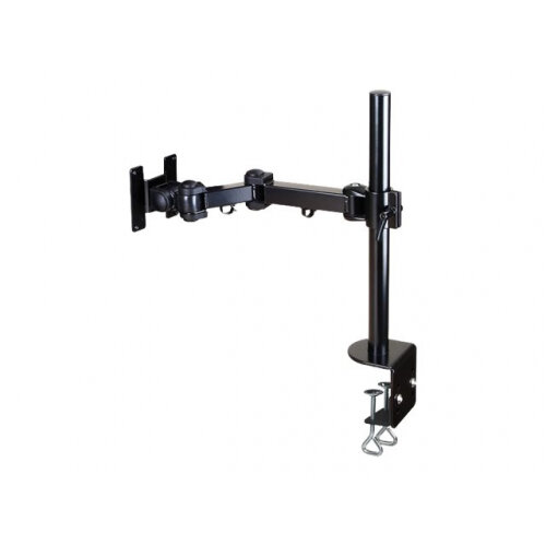 "NewStar Full Motion Desk Mount (clamp) for 10-30"" Monitor Screen, Height Adjustable - Black - Adjustable arm for LCD display - black - screen size: 10""-30"" - desk-mountable"