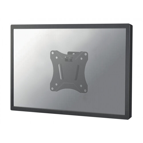 """NewStar NeoMounts TV/Monitor Ultrathin Wall Mount (fixed) for 10""""-30"""" Screen - Black - Wall mount for LCD display - black - screen size: 10""""-30"""""""