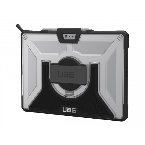 UAG Plasma Series Rugged Case for Surface Pro (2017) &Pro 4 w/ Handstrap &Shoulder Strap - Back cover for tablet - rugged - ice - for Microsoft Surface Pro (Mid 2017), Pro 4