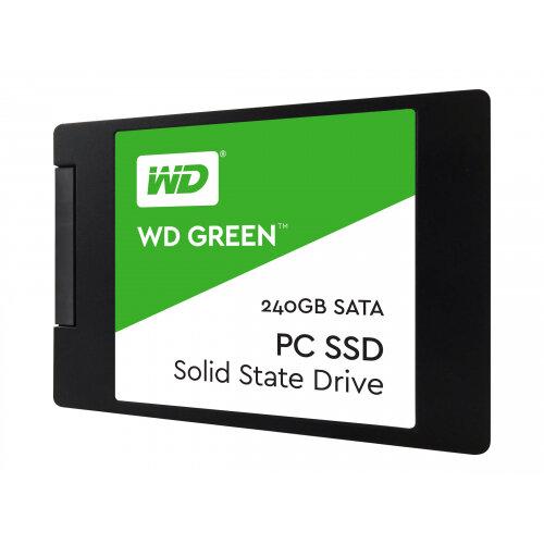 """WD Green SSD WDS240G2G0A - Solid state drive - 240 GB - internal - 2.5"""" - SATA 6Gb/s"""