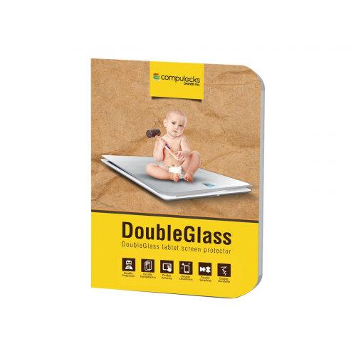 """Compulocks DoubleGlass - Galaxy Tab A 10.1"""" Armored Tempered Glass Screen Protector - Screen protector - for Samsung Galaxy Tab A (2016) (10.1 in)"""