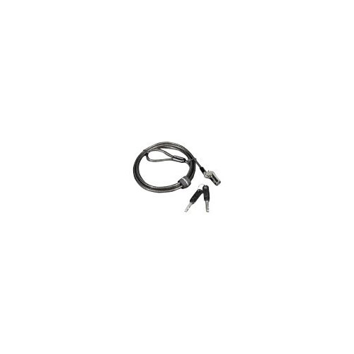 Kensington MicroSaver DS Cable Lock From Lenovo - Security cable lock - charcoal - 1.524 m - for ThinkCentre M625; M71X; ThinkPad A275; A475; L480; P52; T480; X280; V310; V330-15; V410