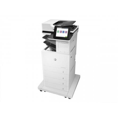 HP LaserJet Enterprise MFP M631z - Multifunction printer - B/W - laser - 216 x 863 mm (original) - A4/Legal (media) - up to 52 ppm (copying) - up to 52 ppm (printing) - 2300 sheets - 33.6 Kbps - USB 2.0, Gigabit LAN, Bluetooth, Wi-Fi(n), USB 2.0 host