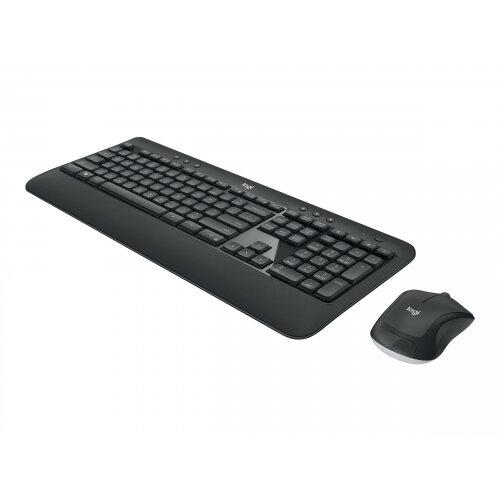 Logitech MK540 Advanced - Keyboard and mouse set - wireless - 2.4 GHz - UK English QWERTY