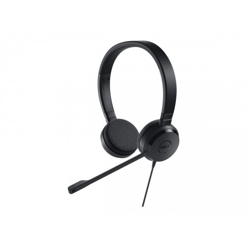 Dell Pro Stereo Headset UC150 - Headset - on-ear - wired - for Inspiron 3670, 5477; Latitude 7390 2-in-1; Precision Mobile Workstation 7520
