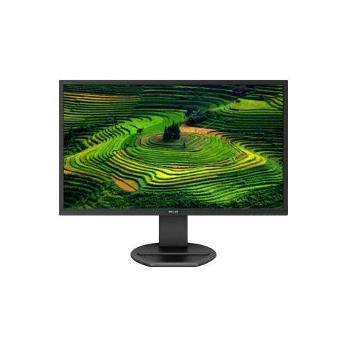 """Philips B Line 272B8QJEB - LED Computer Monitor - 27"""" - 2560 x 1440 QHD - IPS - 250 cd/m² - 1000:1 - 5 ms - HDMI, DVI-D, VGA, DisplayPort - speakers - textured black"""