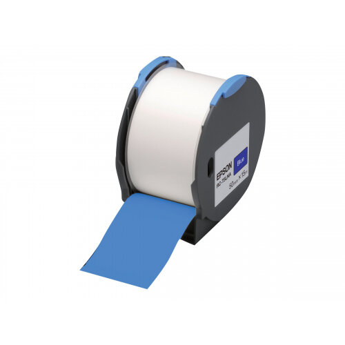 Epson RC-T5LNA - Polyolefin - self-adhesive - blue - Roll (5 cm x 15 m) 1 roll(s) plastic tape - for LabelWorks Pro100