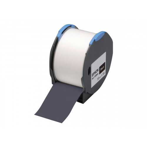 Epson RC-T5BNA - Polyolefin - self-adhesive - black - Roll (5 cm x 15 m) 1 roll(s) plastic tape - for LabelWorks Pro100