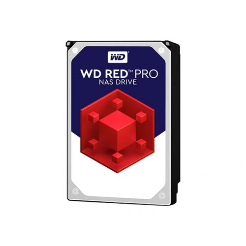 "WD Red Pro NAS Hard Drive WD4003FFBX - Hard drive - 4 TB - internal - 3.5"" - SATA 6Gb/s - 7200 rpm - buffer: 256 MB"