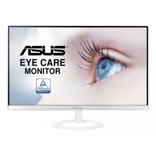 "ASUS VZ249HE-W - LED Computer Monitor - 23.8"" - 1920 x 1080 Full HD (1080p) - IPS - 250 cd/m² - 5 ms - HDMI, VGA - white"