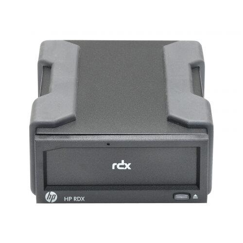 HPE RDX Removable Disk Backup System - Disk drive - RDX - SuperSpeed USB 3.0 - external