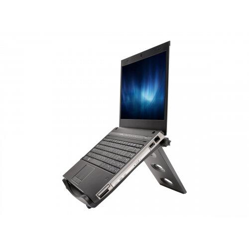 """Kensington SmartFit Easy Riser - Notebook cooling pad - 17"""" - black"""