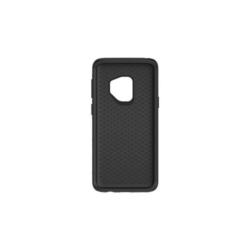OtterBox Symmetry Series - Back cover for mobile phone - polycarbonate, synthetic rubber - black - for Samsung Galaxy S9