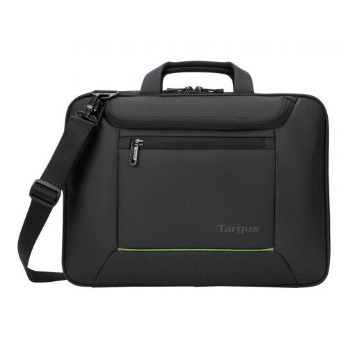 "Targus EcoSmart Balance Briefcase - Notebook carrying case - Laptop Bag - 14"" - black"