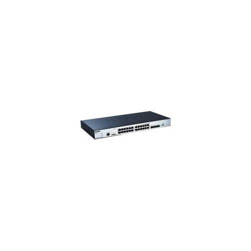 D-Link xStack DGS-3120-24TC - Switch - Managed - 20 x 10/100/1000 + 4 x combo SFP - desktop