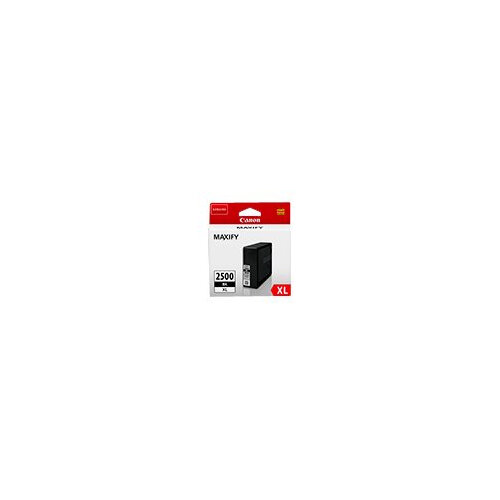 Canon PGI-2500XL BK - 70.9 ml - black - original - ink tank - for MAXIFY iB4050, iB4150, MB5050, MB5150, MB5155, MB5350, MB5450, MB5455