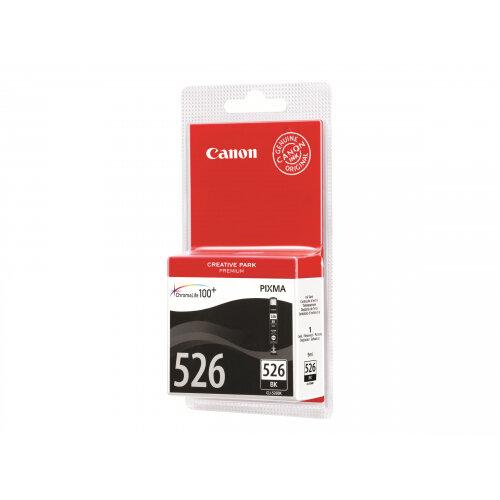 Canon CLI-526BK - Black - original - ink tank - for PIXMA iP4950, iX6550, MG5250, MG5350, MG6150, MG6250, MG8150, MG8250, MX715, MX885, MX895