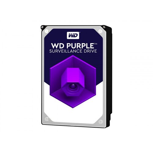 """WD Purple Surveillance Hard Drive WD40PURZ - Hard drive - 4 TB - internal - 3.5"""" - SATA 6Gb/s - 5400 rpm - buffer: 64 MB"""
