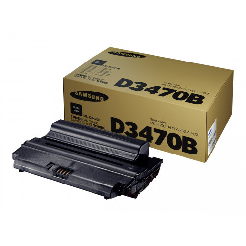 Samsung ML-D3470B - High Yield - black - original - toner cartridge (SU672A) - for Samsung ML-3310, ML-3470, ML-3471, ML-3472, ML-3473, ML-3475, ML-3710