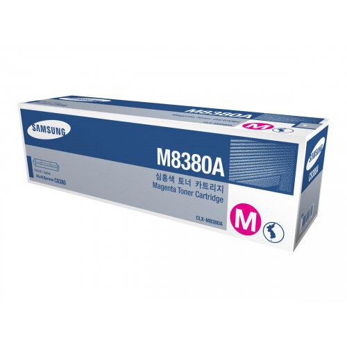 Samsung CLX-M8380A - Magenta - original - toner cartridge (SU591A) - for Samsung CLX-8380ND, CLX-8380NDG, CLX-8380NI, CLX-8385ND