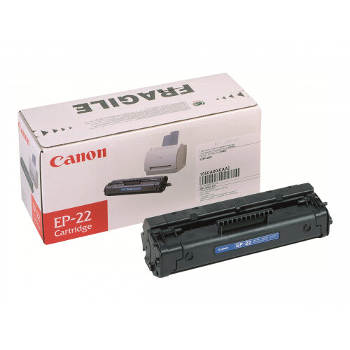 Canon EP-22 - Black - original - toner cartridge - for Laser Shot LBP-1120; LBP-1110, 1110 Premium, 1110SE, 1120, 250, 350, 5585, 800, 810